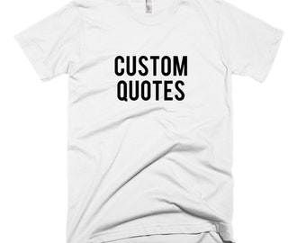 RESERVED 8 Crewneck Shirts: Custom Quotes Bridal Party Unisex fit T-Shirts - Bridesmaid Getting Ready Outfit - Robe