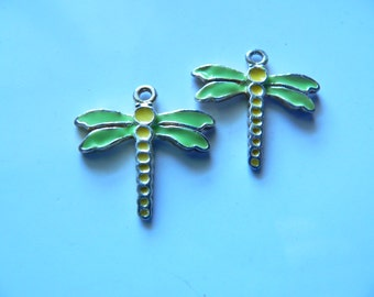 Dragonfly Charm Beading Jewelry Supplies Pendant