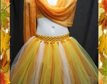 Sunny and Vibrant Tutu Skirt