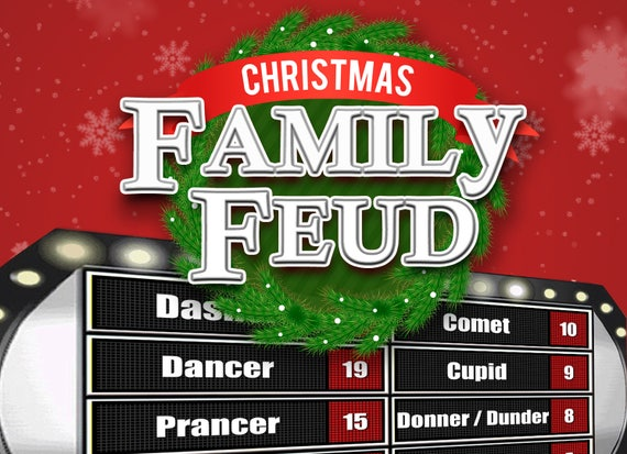 Christmas family feud trivia powerpoint game mac and pc christmas family feud trivia powerpoint game mac and pc compatible toneelgroepblik Image collections