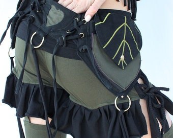 Double Leaf Belt Bag
