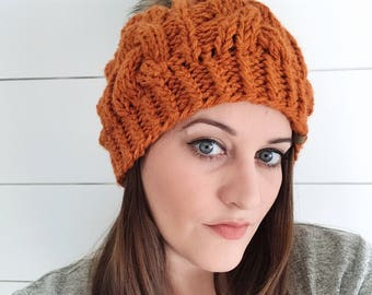 Foxy Cable Beanie