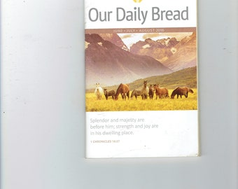 our daily bread book june,july,aug 2016