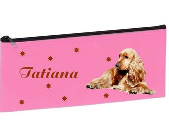Personalized with name pink school Cocker Kit