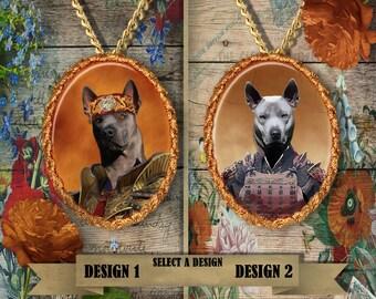 Thai Ridgeback Jewelry Thai Ridgeback Dog Pendant Thai Ridgeback Gift Thai Ridgeback Necklace Custom Dog Porcelain Jewelry Nobility Dogs