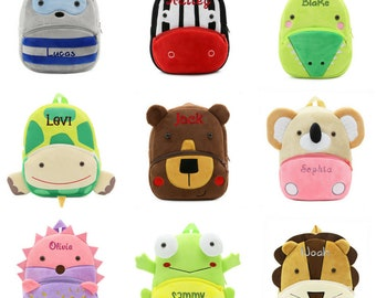 Personalized Toddler Backpack Toddler Boy Backpack Toddler Girl Backpack Purse Preschool Backpack Baby Backpack