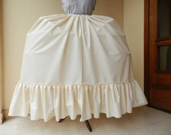 Petticoat dress basket Marie-Antoinette