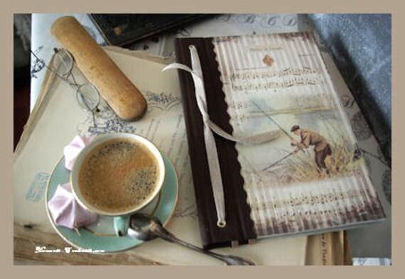 Carnet de pêche  outdoor brochet carpe truite sandre lamproie breme cadeau pour pêcheurs