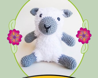 Make Your Own Crochet Amigurumi Sheep Pattern - Instant PDF Download -US Version- Includes Photo Tutorial