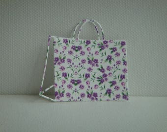 Cut shopping bag in photo gloss paper for scrapbooking and card (ref7) high quality