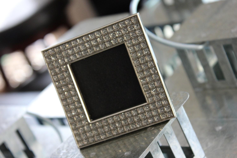 Sale vintage style rhinestone jeweled frame gatsby bling silver 799 jeuxipadfo Images