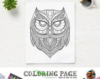 Printable Animal Head Coloring Pages Goat Pattern Coloring