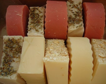 Pick 4 Mix and Match Handmade Soap Assortment
