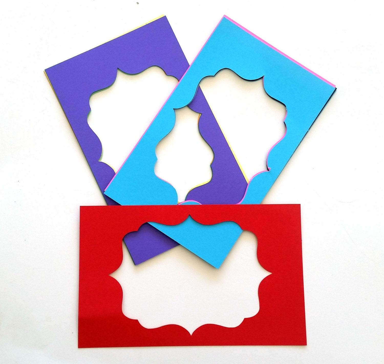 10 pack - Paper Frames, Paper Frame Cut Out, Embellishment Frames ...