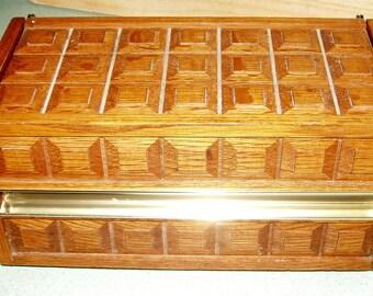 Vintage Wooden Western Electric Mediterranean Style Box Phone
