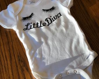 Baby Onesie - Little Diva