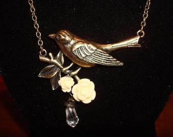 Elegant Bird Necklace