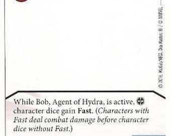 Bob, Agent of Hydra