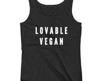 Lovable Vegan - Ladies' Tank