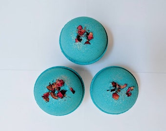 Flower Power Glitter Bath Bombs (with Biodegradable EcoGlitter)
