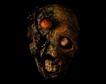 Mr. Grizzles - Horror sculpture, horror collectible, zombie art, gothic