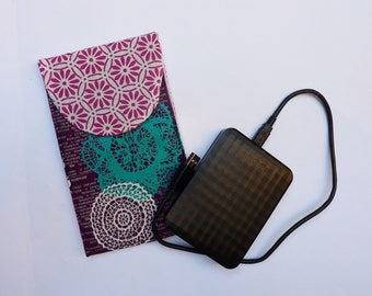 Shockproof for external hard drive case