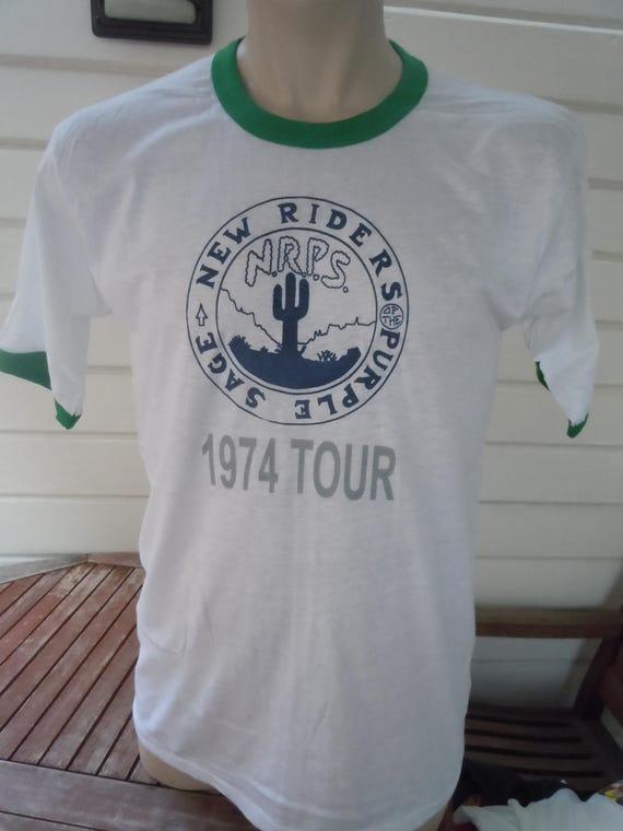 Size XL (48) ** Dated 1971 Rare Earth Shirt (Deadstock Unworn) (Single Sided) bDlVmjyG