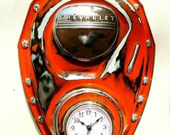 Man Cave Garage Clocks : Green collectible advertising clocks ebay