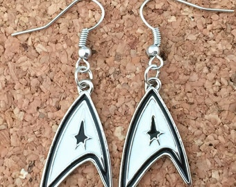 Star Trek inspired earrings
