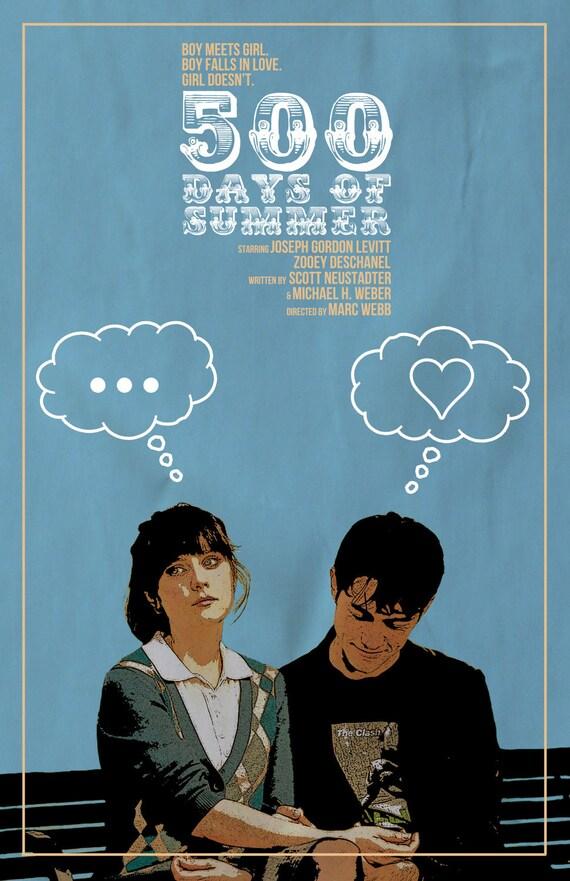 500 days of summer film poster v3 m4hsunfo