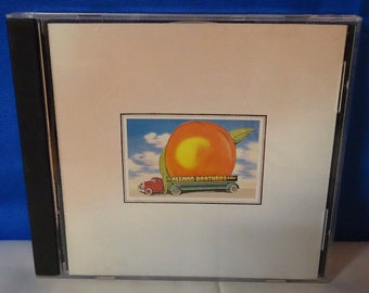 """050218 07 Used The Allman Brothers """"Eat A Peach"""" CD Polydor 823 654-2"""