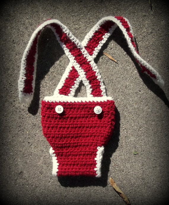 Suspender Diaper Cover- Made to Order- Choose Your Color- Newborn to 24 Months