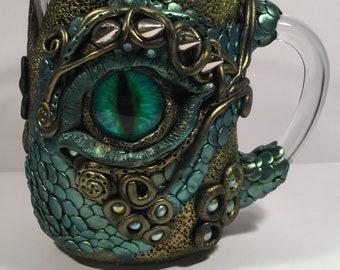 Dragon Eye Tankard Glass