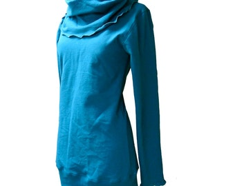 Organic long tunic or short dress