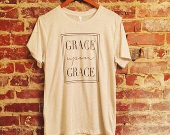 Grace upon Grace t-shirt!