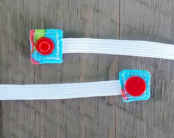 Replacement Snap-On Elastic for Nebulizer Head Straps -- Elmo