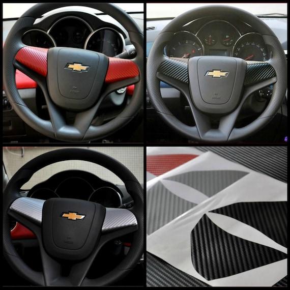 Chevrolet Chevy Cruze Aveo Carbon Fiber 3d Vinyl Sticker Wrap