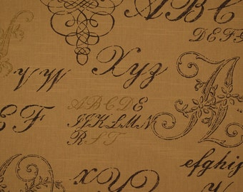 Monogram Paper Bag Fabric