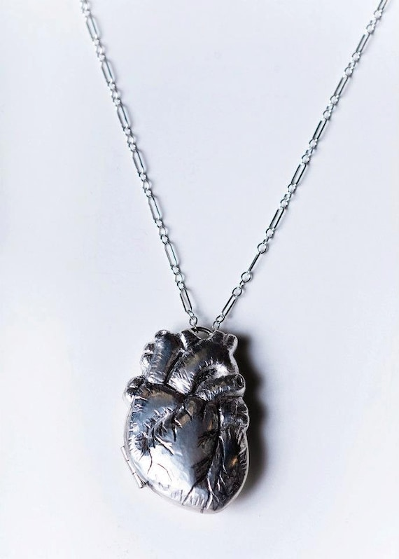 Anatomically Correct Heart Locket No.3