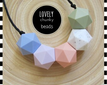 Chewable Nursing Jewellery~Breastfeeding Necklace~Jewellery for Mums~Sensory Necklace~Baby Shower Gift~Teether~Teething Necklace for Mummy