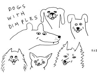 Dogs with Dimples