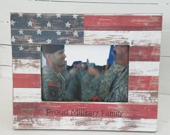 Military gift ideas - personalized military frame - personalized military gifts - gift to soldier - us veteran gifts - holiday gift ideas