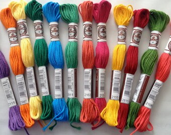 DMC Soft Cottons bundle - Summer Brights