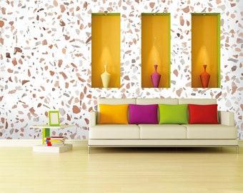Self-adhesive wallpaper-Industrial-Marble-Yellow BUS