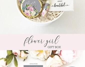 Flower Girl Proposal Box Flower Girl Gift Box Will You Be My Flower Girl Gift Box Flower Girl Gift Ideas (EB3250FLG) Flower Girl GIFT SET