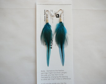 Feather Earrings...................By The MyCollection2