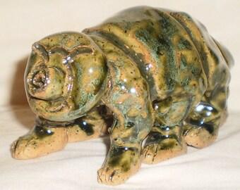 Ceramic Tardigrade Sculpture