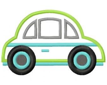 Car Applique Design INSTANT DOWNLOAD