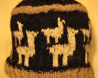 Herd of Alpacas Hat--Knit your Own!