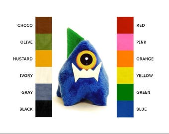 Cyclops with Glow-In-The-Dark Fangs Personalize